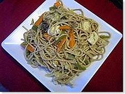Meera's Tofu hakka noodles
