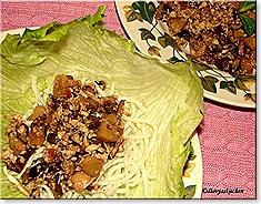 Dhivya's Veg. lettuce wraps