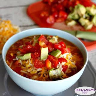 One-Pot Spicy Noodle Soup.