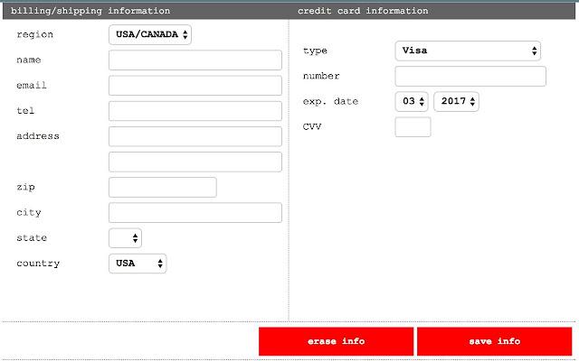 how to delete autofill address in chrome