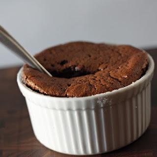 Bittersweet Chocolate Souffles