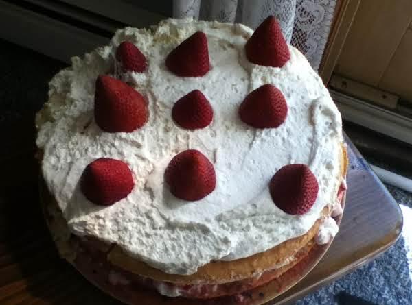 Family-size Strawberry Shortcake