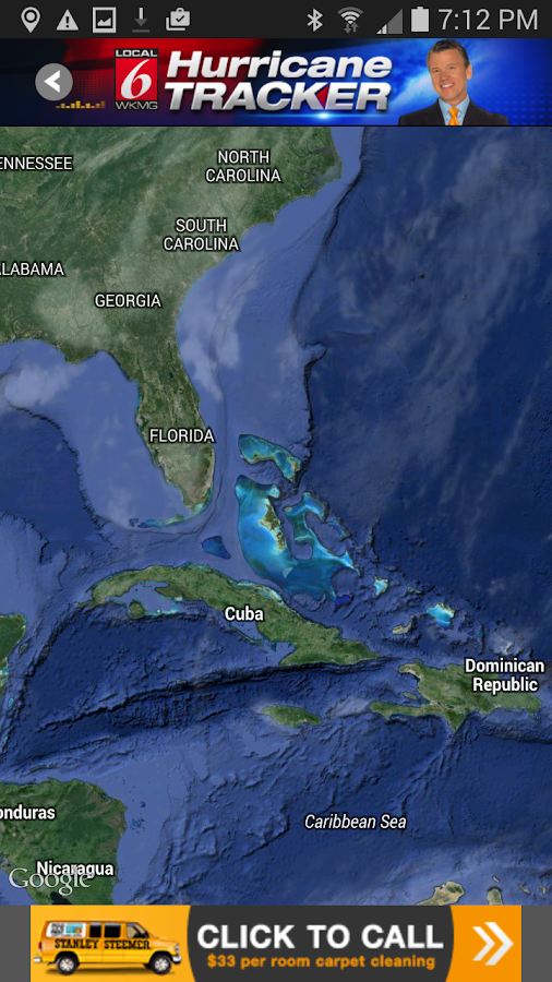 Hurricane Tracker WKMG Orlando - screenshot
