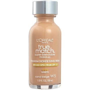 Base L´Oréal Paris True match Sand beige 30ML