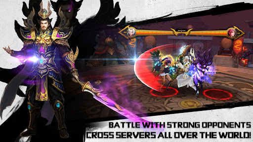 Dynasty Blades: Collect Heroes & Defeat Bosses apkpoly screenshots 4