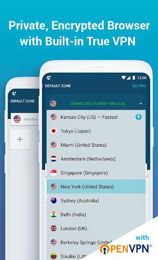 Tenta Private VPN Browser + Ad Blocker (Beta) 3.0.7 screenshots 1