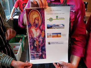 Photo: Das Plakat mit unseren Sponsoren