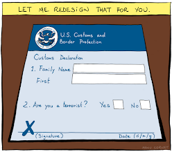 Photo: http://www.bonkersworld.net/us-customs-form/ #comic
