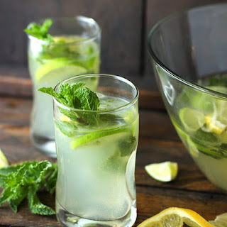 Karen's Zesty Lemon Lime Mojitos