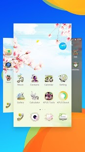 Gorgeous Flower Garden- APUS Launcher theme- screenshot thumbnail