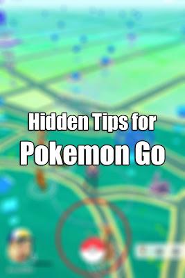 Hidden Tips for Pokemon Go - screenshot