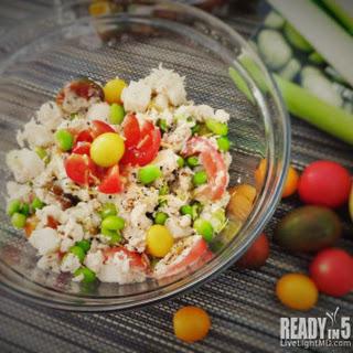 Tuna, Jicama and Edamame Salad Recipe