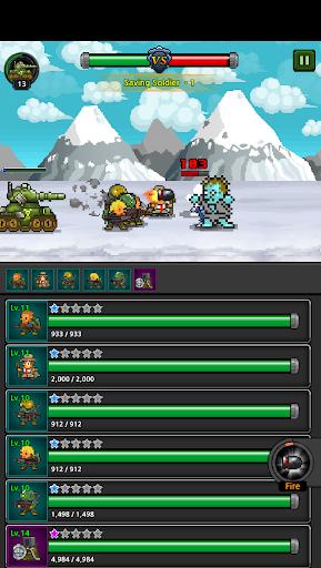 Grow Soldier - Idle Merge game apkdebit screenshots 4