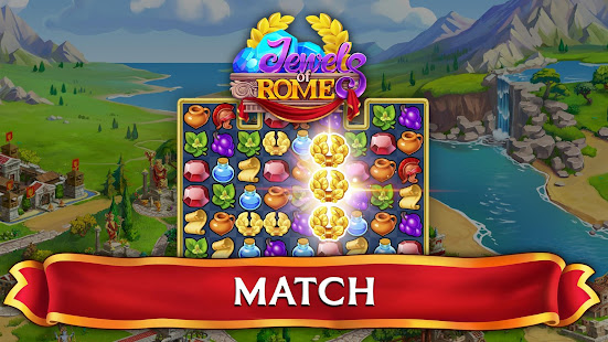 Game Jewels of Rome: Match gems to restore the city APK for Windows Phone