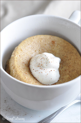 Single-Serve Snickerdoodle Mug Cake
