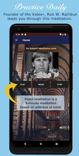 Screenshot for Kelee® Meditation in United States Play Store