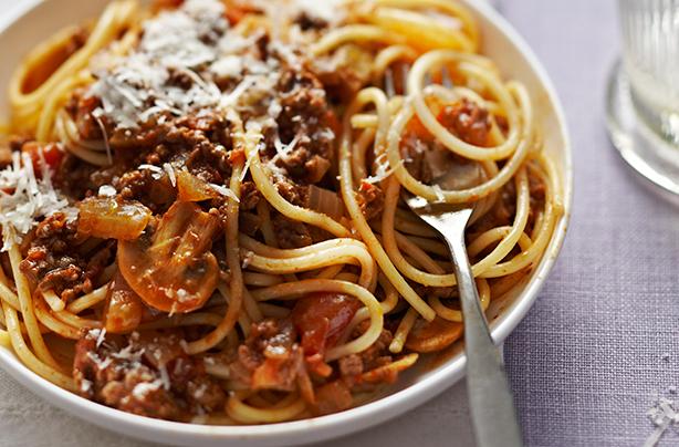 Five-Minute Spaghetti Bolognese Recipes — Dishmaps