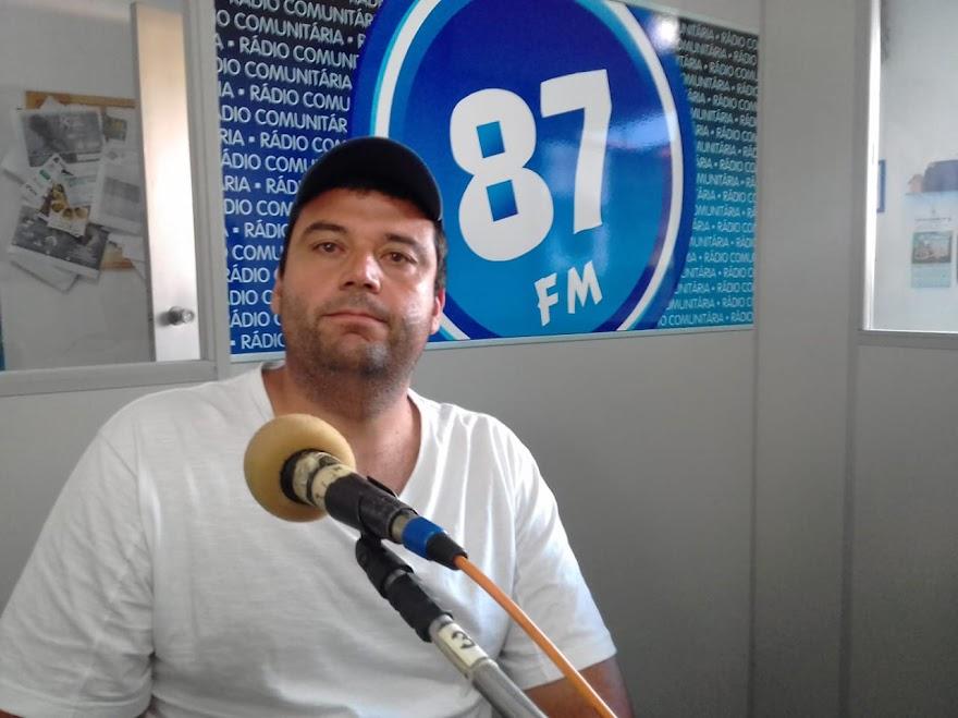 Henrique Aparecido, integrante do E. C. Mogiana