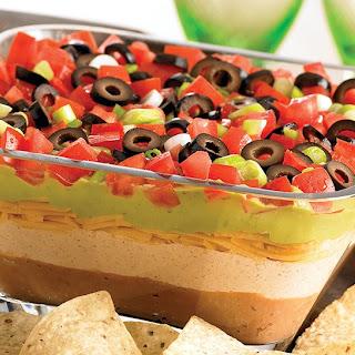 Gluten-Free 7 Layer Fiesta Dip