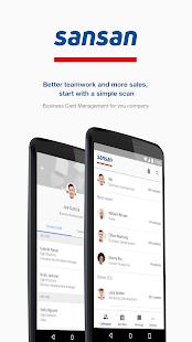 Sansan - Biz Card Management - náhled