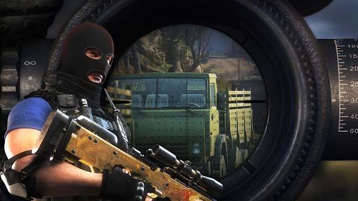 sniper 3d shooter- free gun shooting game screenshot 1