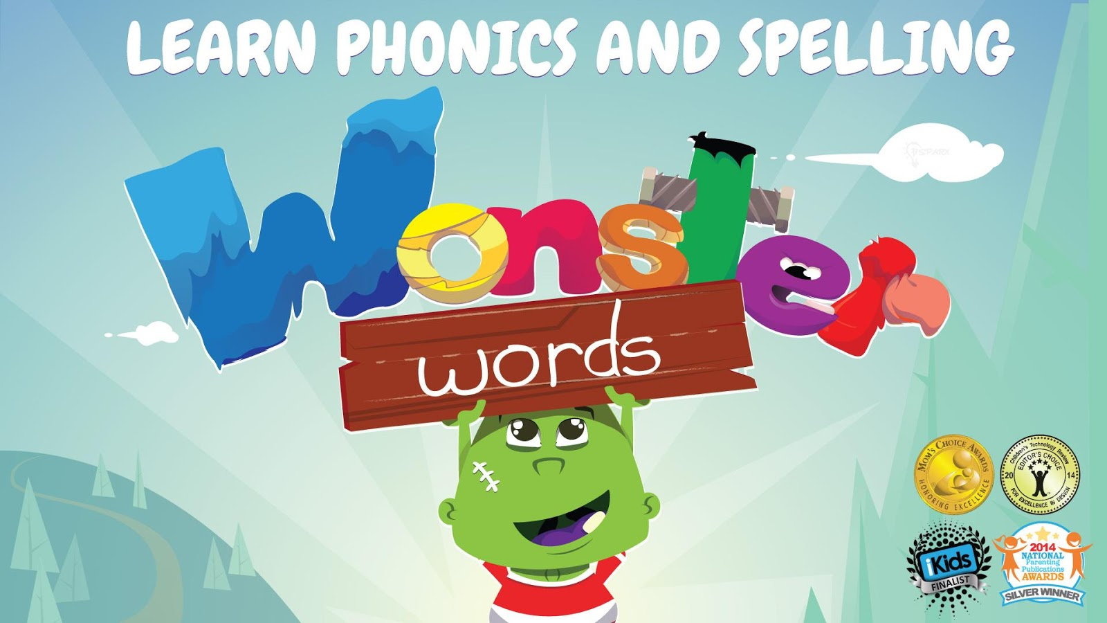 Wonster ABC Phonics Spelling- screenshot