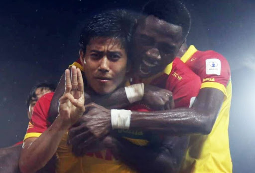 Myanmar Footballer Punished For Showing Hand Sign In Support Of Anti-Protest Movement