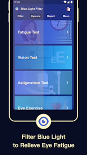 Blue Light Filter – Screen Dimmer for Eye Care Screenshot