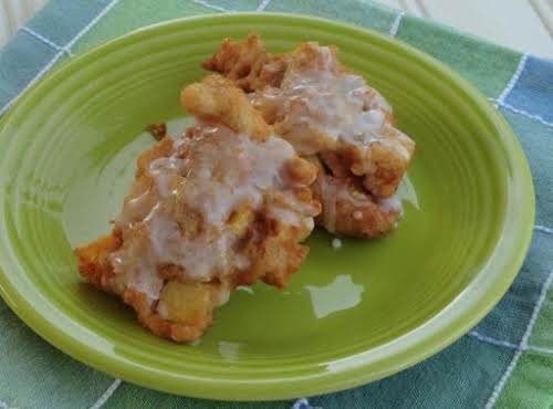 "Delicious Fresh Peach Fritters ""They were a very good quick and easy..."
