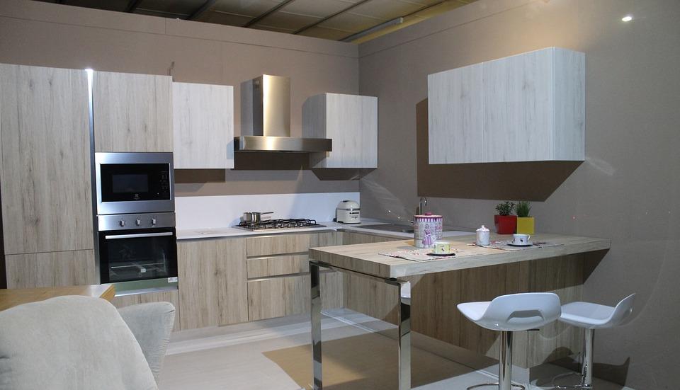 Minimalistic Modular Kitchen Cabinets