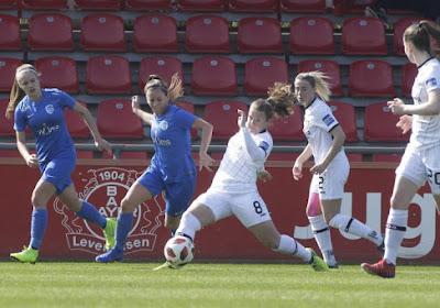 KRC Genk Ladies speelden spektakelduel met zeven doelpunten in Leverkusen