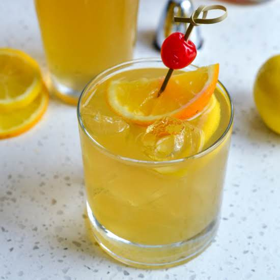 This Delectable Three Ingredient Whiskey Sour Is Both Easy And Refreshing Making It One Of Our Go To Cocktails For Spring And Summer.
