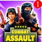 Combat Assault: CS PvP Tirador icon