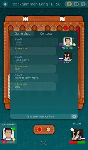 Backgammon LiveGames - live free online game  captures d'u00e9cran 10