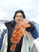 Photo: シゲヤマさんもアラカブ。