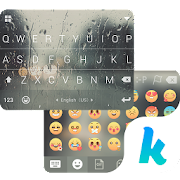 App Rain Drops Kika Flat Theme APK for Windows Phone