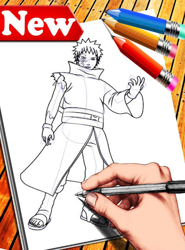 How to Draw Naruto Characters 1.6 screenshots 6