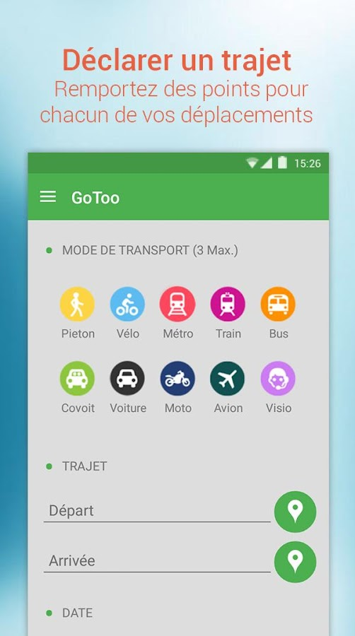 GoToo - Covoiturage- screenshot