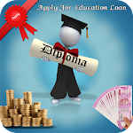 Online Education Loan Apply Icon