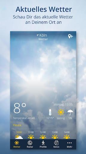 Wetter.de screenshot 1