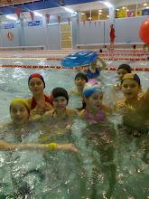 """Photo: Kryta pływalnia """"Delfin"""" w Ustrzykach Dolnych- styczeń 2012"""
