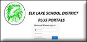 Elk Lake School District Portals image link will open in a new window.