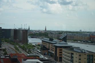 Photo: uitzicht vanuit restaurant over Kopenhagen