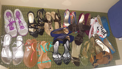 Photo: You can NEVER bring too many pairs of shoes!