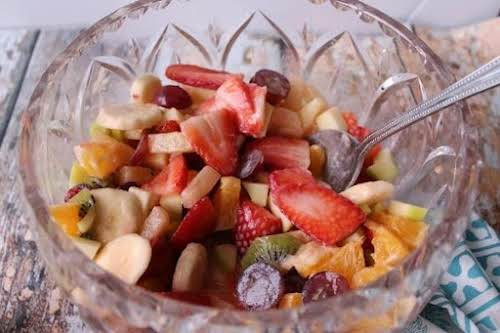 "Click Here for Recipe: Mom's Fruit Salad ""This is a really simple..."