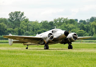 Photo: Beech C-45, please visit http://www.1941hag.org/c_45.html