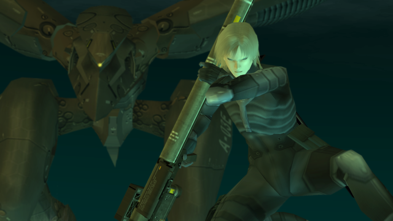 METAL GEAR SOLID 2 HD for SHIELD – Capture d'écran