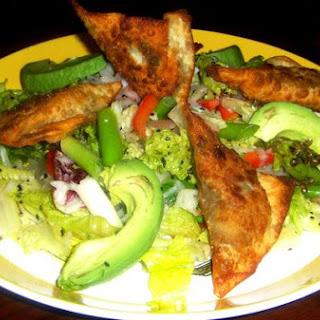 Fried Wonton Chopped Asian Salad