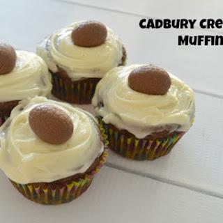 Mini Cadbury Creme Egg Muffins