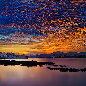 sky burn by Haslam Format - Landscapes Cloud Formations ( sky;landscape;ambon;galala; )
